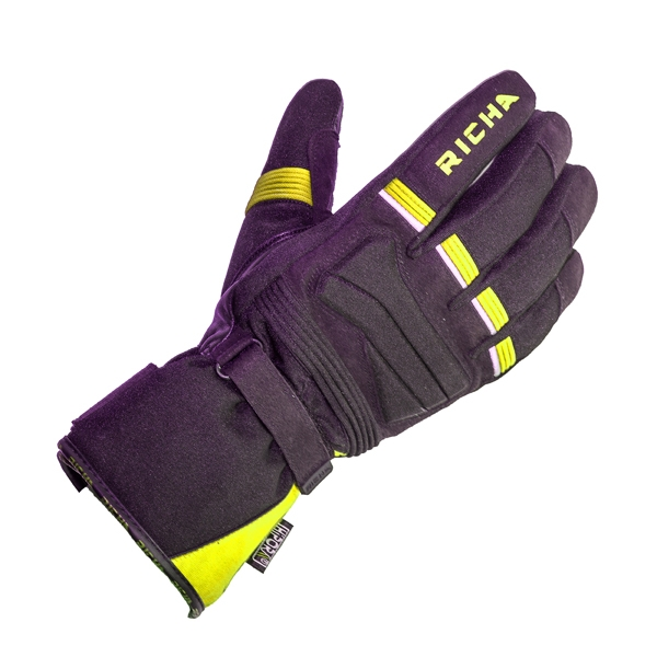 Richa Peak Glove - BLK/FLUO