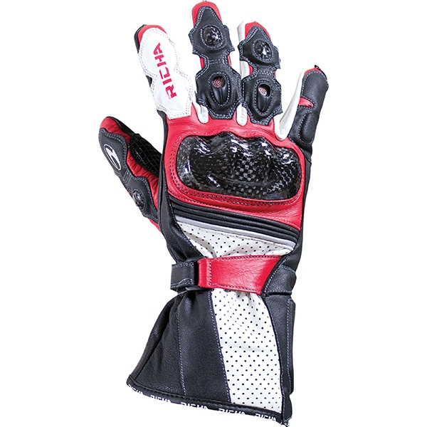 Richa Ravine Glove - BLK/RED