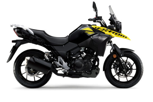 VStrom 250 Black Yellow